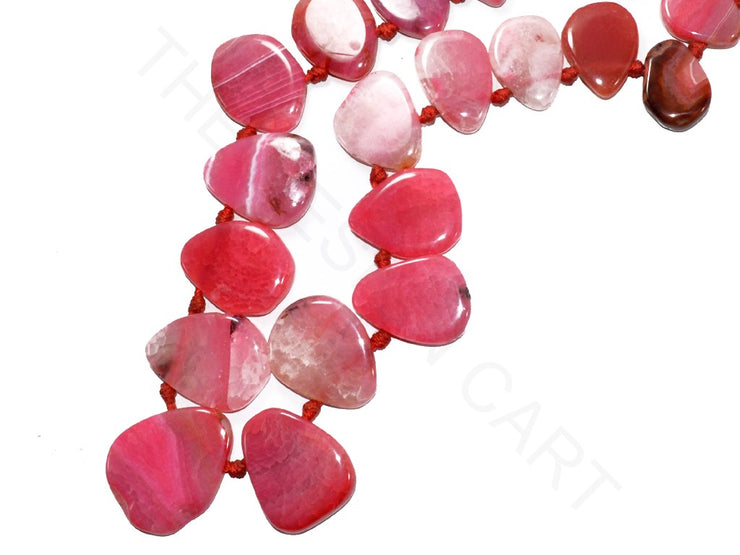 Pink Drop Agate Stones | The Design Cart (3785175859234)