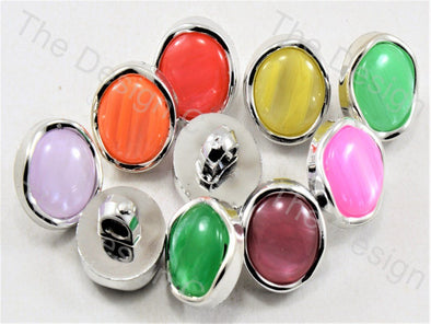 Assorted Pack Of Round Pearl Designer Button