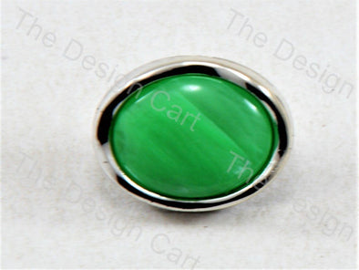 Green Round Pearl Designer Button
