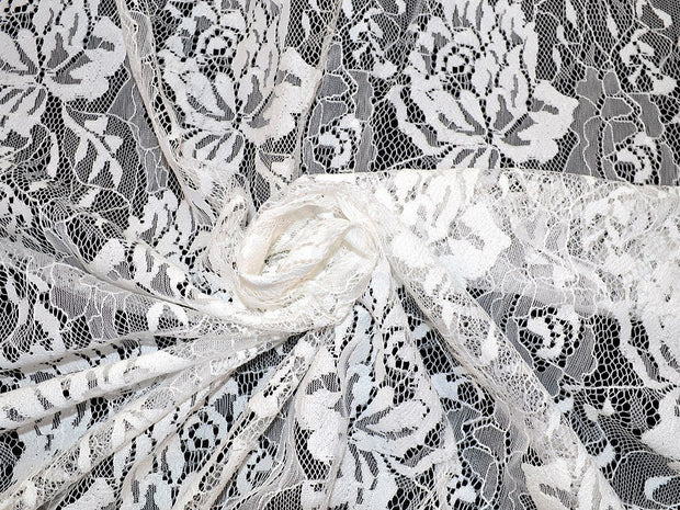 White design 3 Nylon Net Fabric