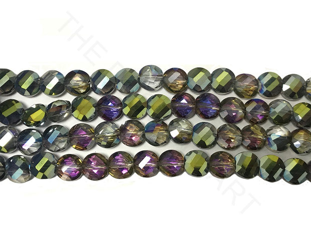 Multicolour Faceted Crystal Beads | The Design Cart (4323288252485)