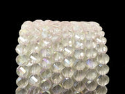 Light Pink Faceted Crystal Beads | The Design Cart (4323288350789)