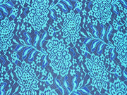 Navy Blue design 4 Nylon Net Fabric