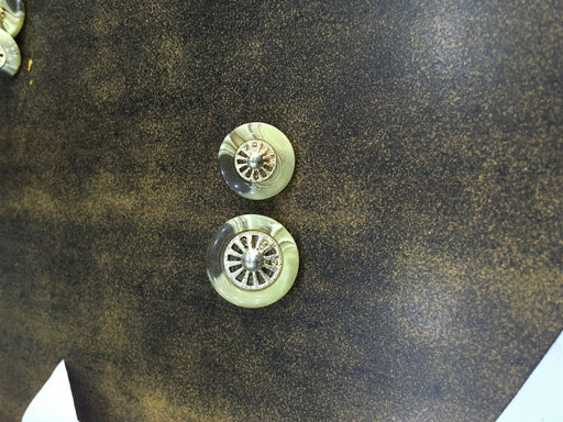Brown Designer Acrylic Coat Buttons