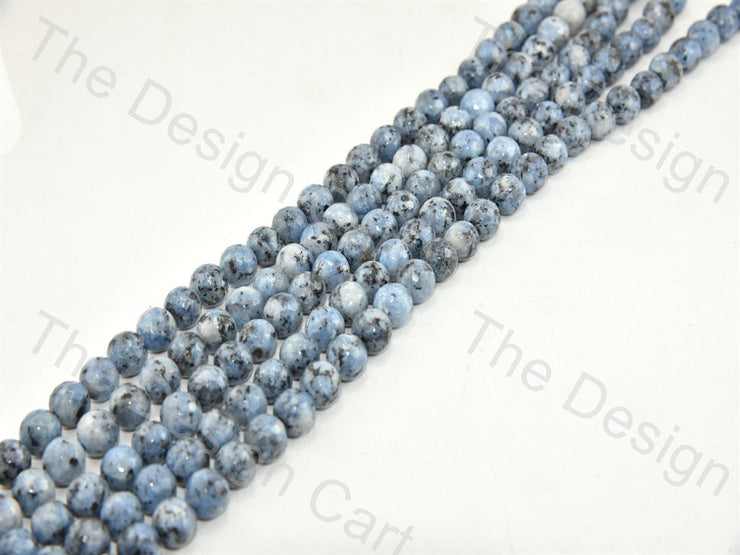 Blue Gray Black Rondelle Jade Quartz Stones (395806015522)