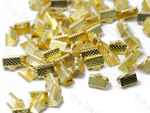 Golden Box Lock Spacer Beads