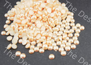 Golden / LCT Hemi Spherical Resin Stones (12562255059)