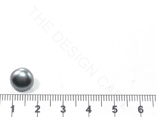 Silver Spherical Glass Buttons