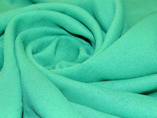 Green Poly Georgette Fabric