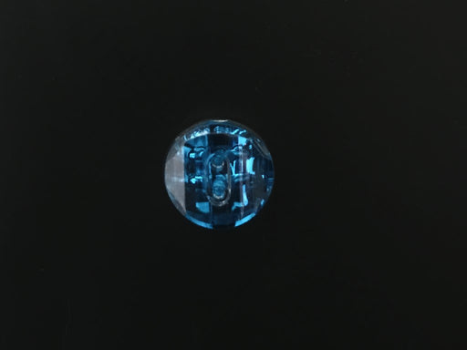 Blue 2 2-Hole Acrylic Buttons
