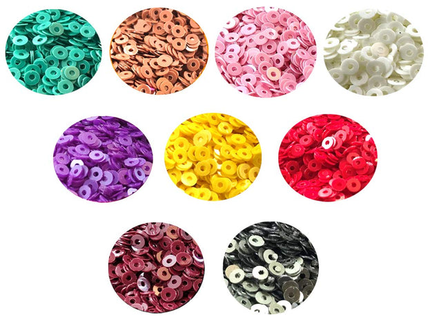Assorted Pack Of 9 Sequins Combo 5