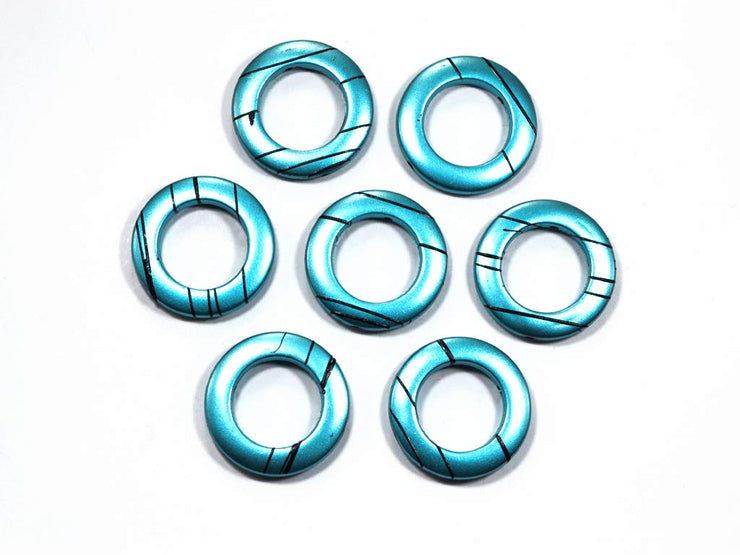 Blue Ring Acrylic Stones | The Design Cart (1729477771298)