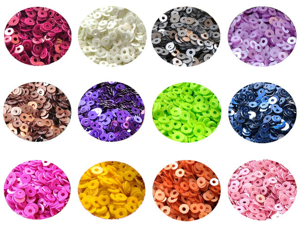 Assorted Pack Of 12 Sequins Combo 16