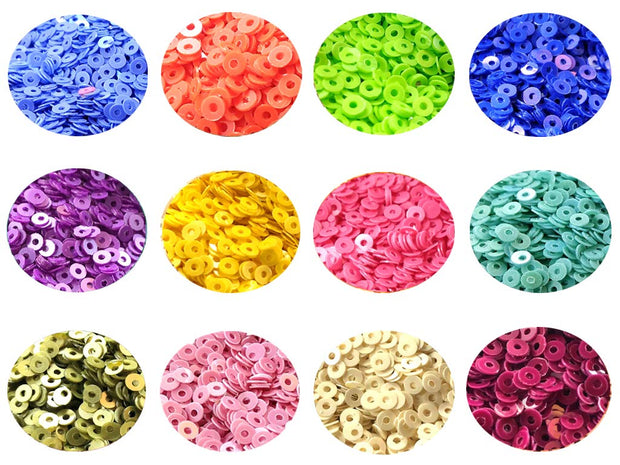 Assorted Pack Of 12 Sequins Combo 14