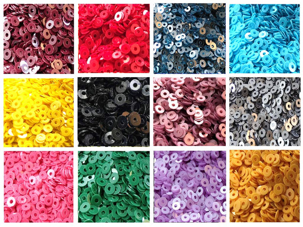 Assorted Pack Of 12 Sequins Combo 20