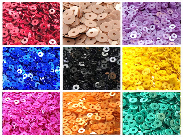 Assorted Pack Of 9 Sequins Combo 9