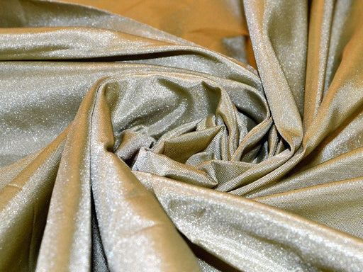 Olive Green Poly Satin Fabric