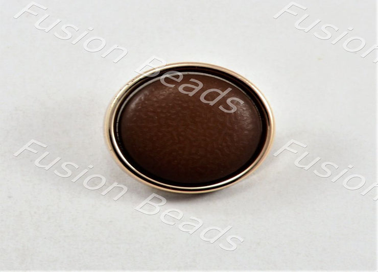 brown-simple-pearl-button