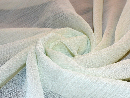 Light Green Poly Chiffon Fabric