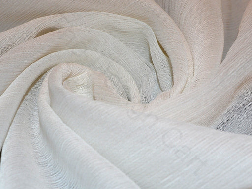 White Viscose Chiffon Fabric