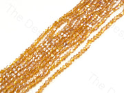 Brown Rainbow Transparent Bicone Crystal Beads