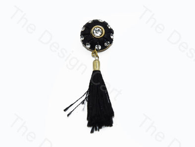 Black Tassel Buttons
