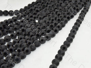 Black Shimmer Designer Crystal Beads