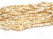 white-peach-golden-dual-tone-tyre-rondelle-shaped-crystal-bead