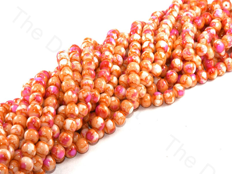 orange-pink-designer-spherical-glass-pearl