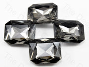 Gray Square Shaped Glass stone (11324145683)