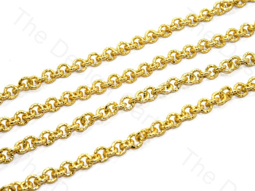 Circle Golden Hooks Metal Chain