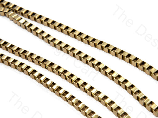 Square Light Golden Hooks Metal Chain