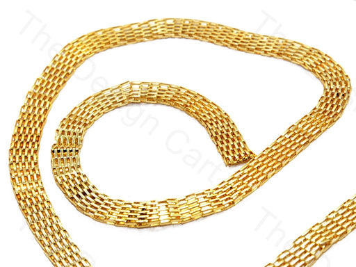 Belt Design Golden Metal Chain