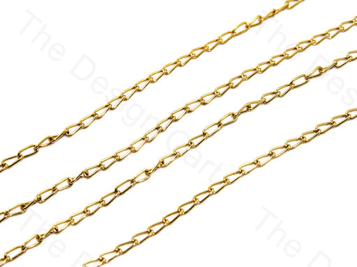 Long Hook Design Bronze Metal Chain