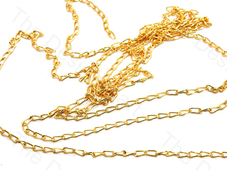 Long Hook Design Golden Metal Chain | The Design Cart (559758409762)