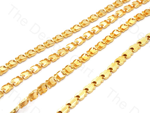 Guitar Design Golden Metal Chain