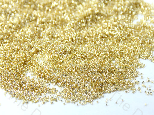 Miyuki Golden Silverline Hexagonal Cut Beads