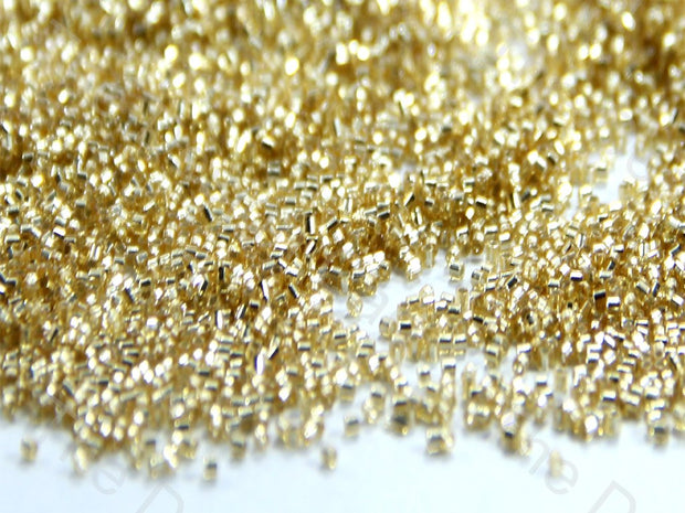 Miyuki Golden Silverline Hexagonal Cut Beads (1492738998306)