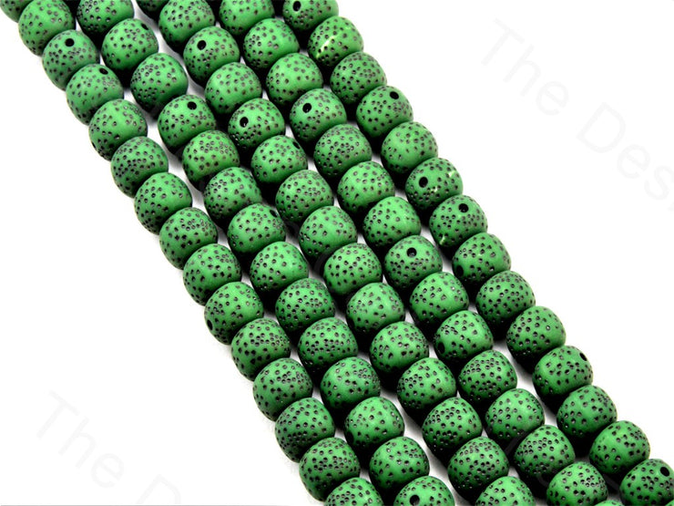 dark-green-plastic-printed-beads (11426034451)