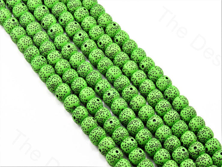 green-plastic-printed-beads (11425980435)