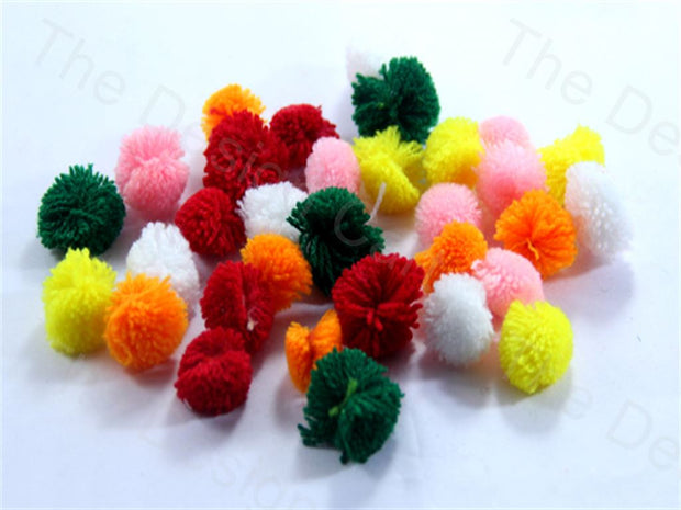 Assorted Pack of Standard Pom Poms