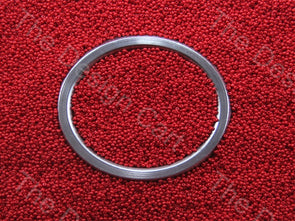 Apple Red Opaque Preciosa Round Seed Beads