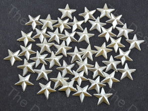 Cream Opaque Star Shaped