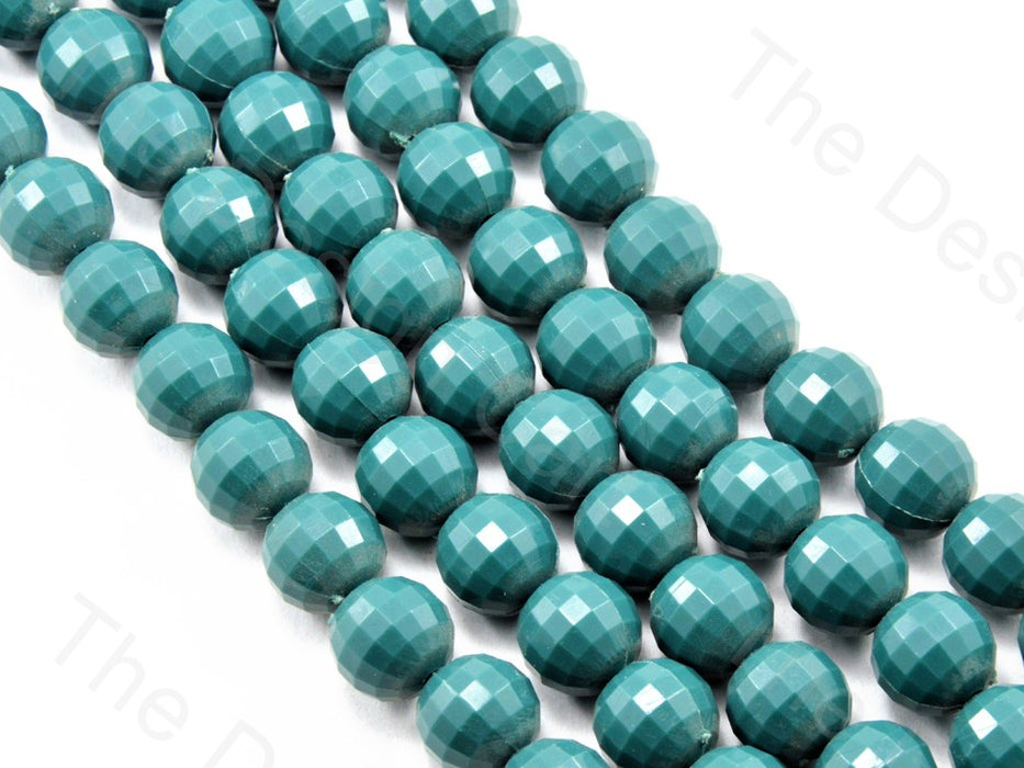 Sea Green Opaque Round Shaped