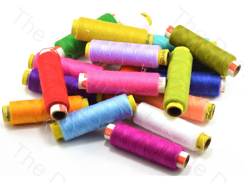 Assorted Box of Spun Polyester Threads