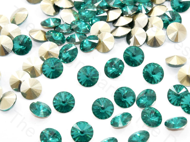 Green Round Shaped Resin Stones | The Design Cart (545053802530)