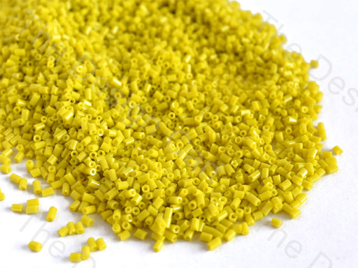 Opaque Yellow 2 Cut Seed Beads