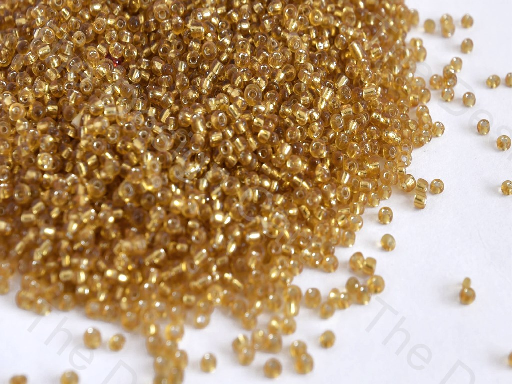 Silverline Golden Round Rocailles Seed Beads