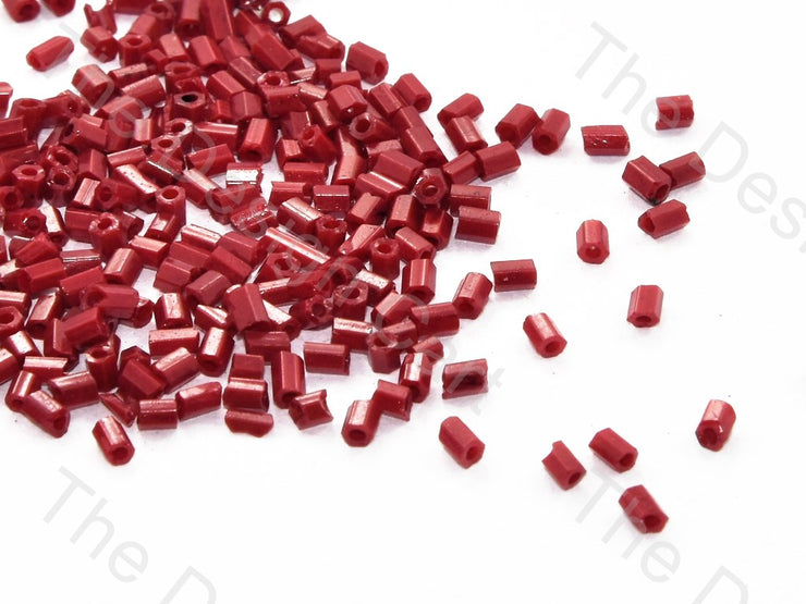 Maroon Dyed 2 Cut Seed Beads (448146505762)
