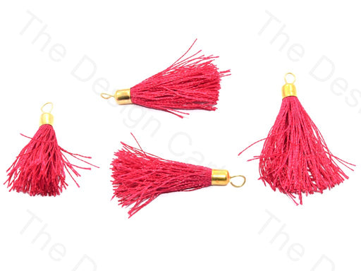 Magenta Silk Thread Tassel